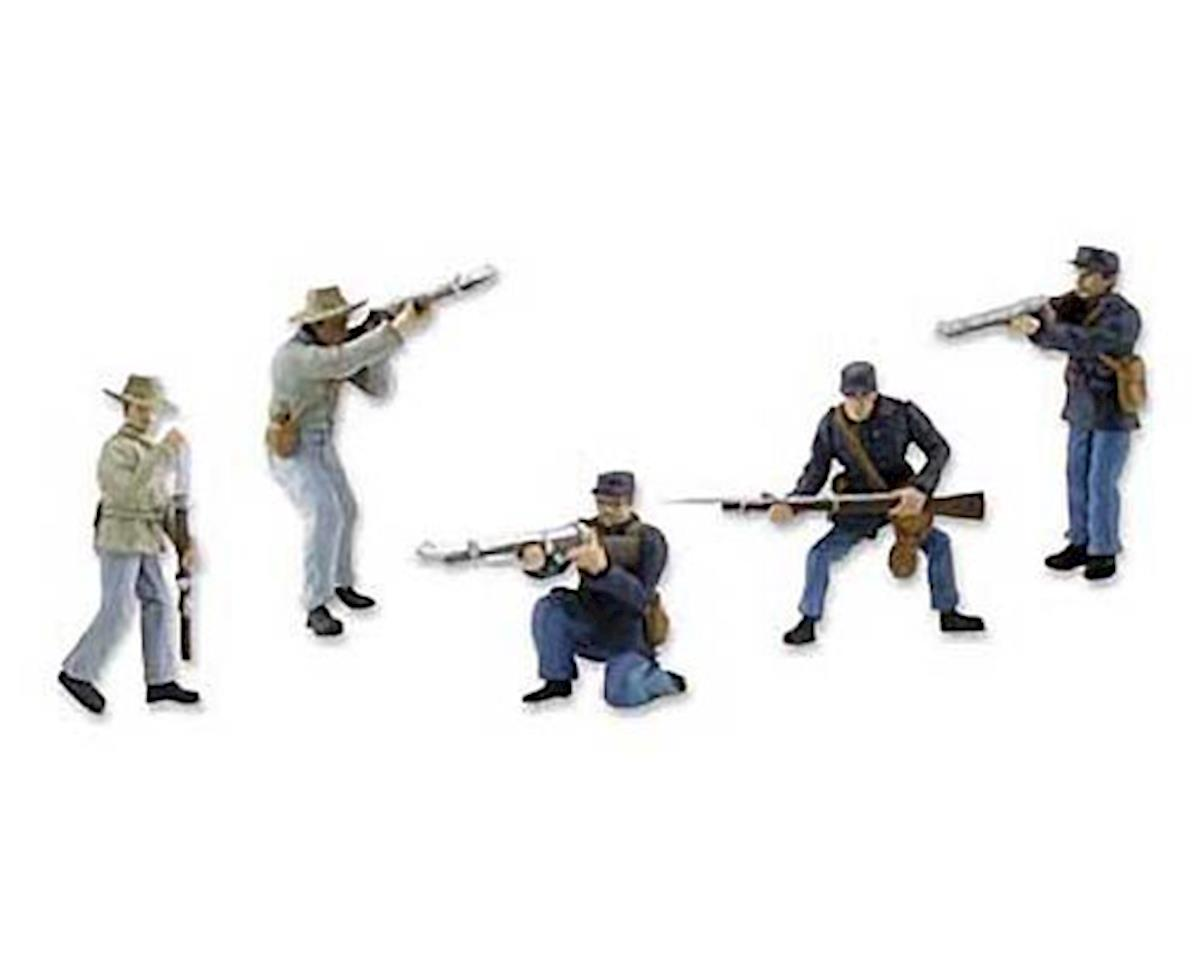Woodland Scenics SP4345 Scene Setters American Civil War Soldiers Clam