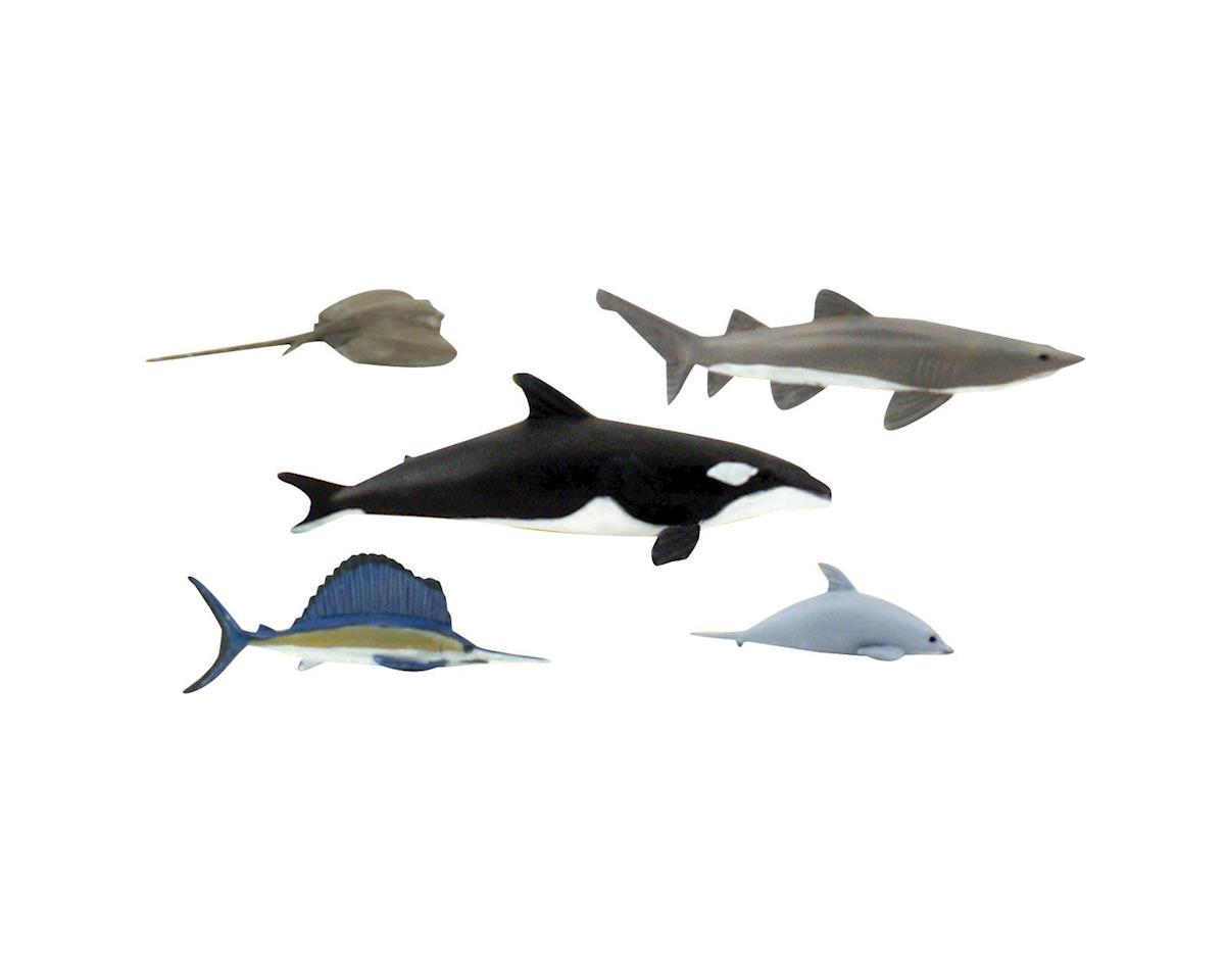 Scene-A-Rama Scene Setters Marine Life Animals (5p by Woodland Scenics