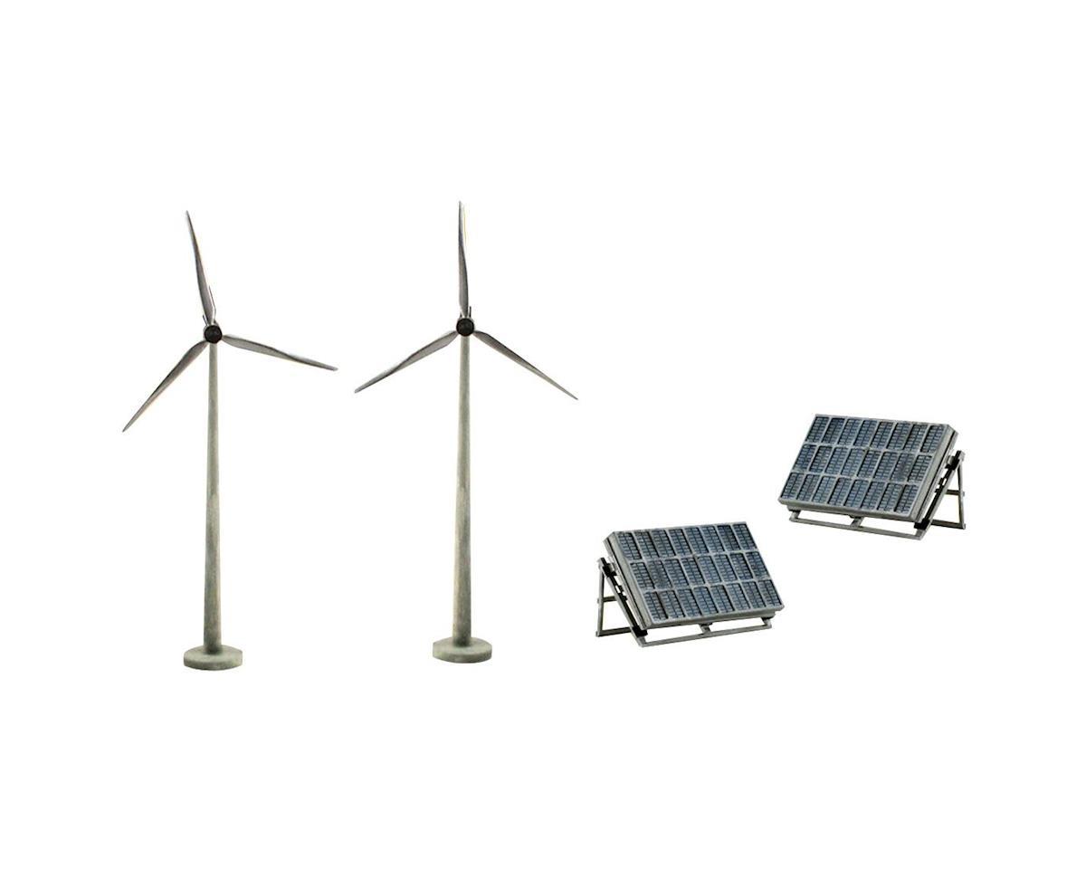 Woodland Scenics Scene Setters Alternative Energy Clamshell Pkg
