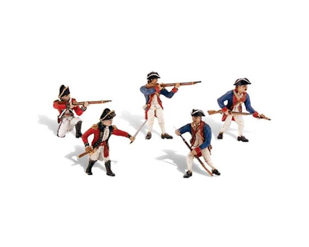 Woodland Scenics Scene-A-Rama Revolutionary War Soldiers