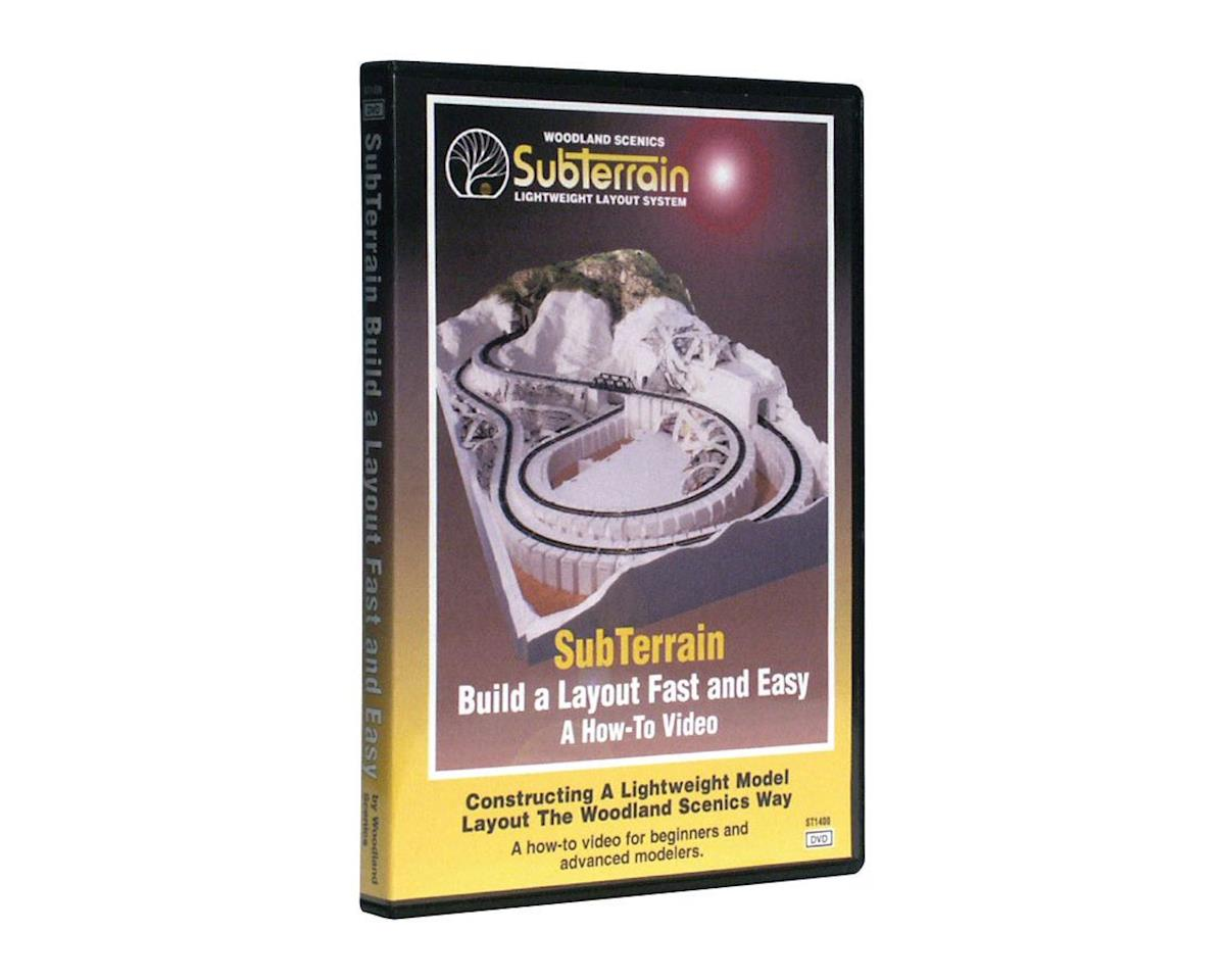 Woodland Scenics How to SubTerrain - DVD