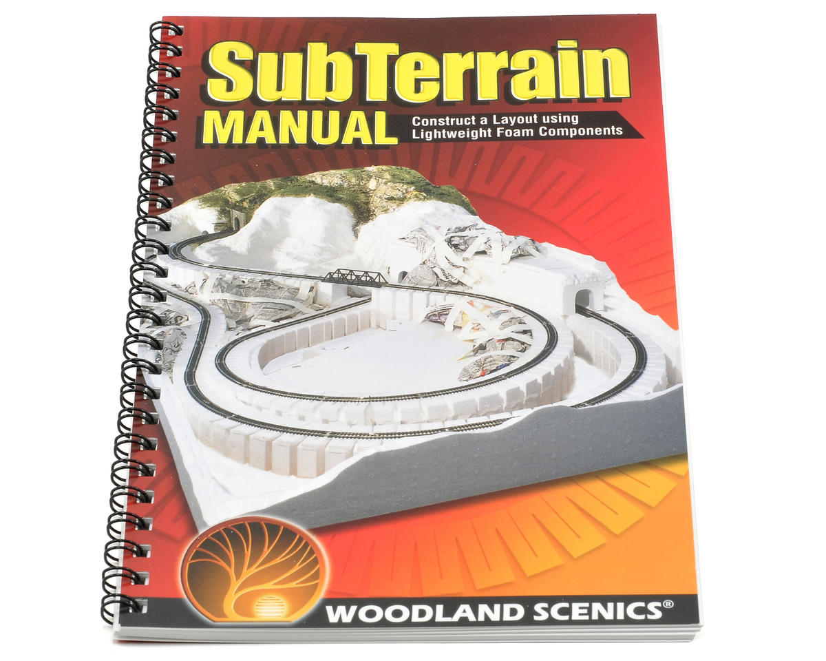 Woodland Scenics SubTerrain How To Book