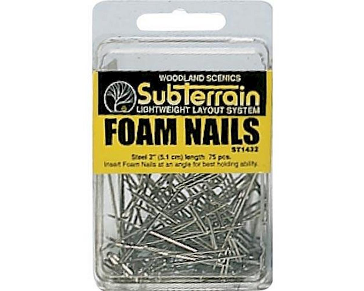 "Woodland Scenics Foam Nails, 2"" (75)"