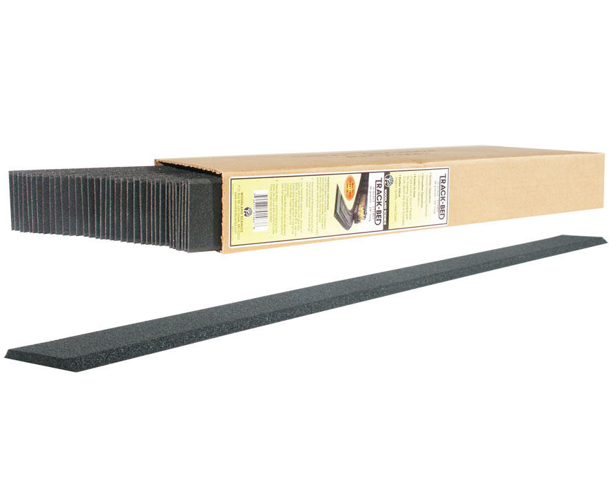 HO-Scale 2' Track-Bed Strips (36)