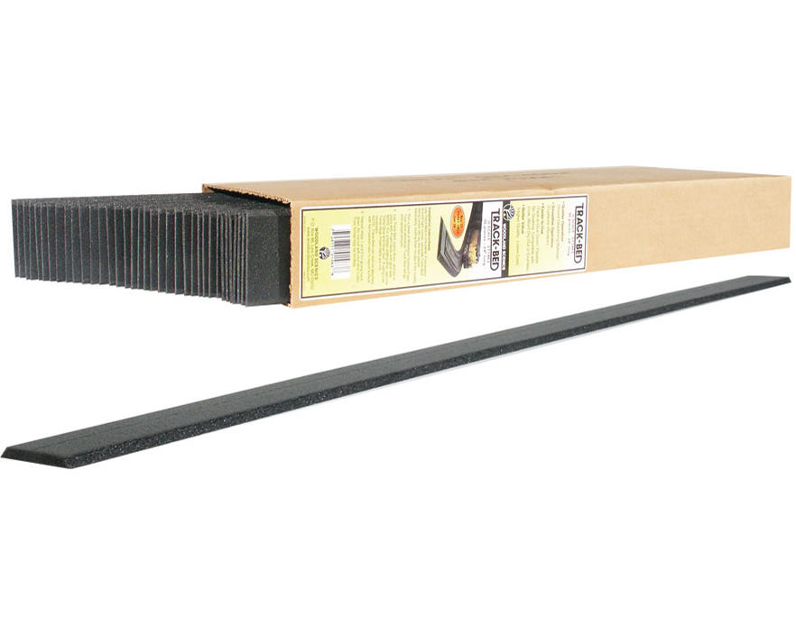 N-Scale 2' Track Bed Strips (36) by Woodland Scenics