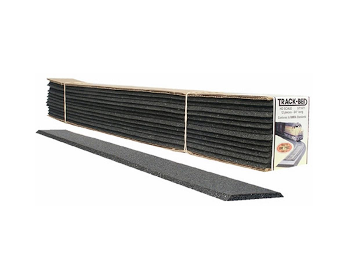 Woodland Scenics O 2' Track-Bed Strips (12)
