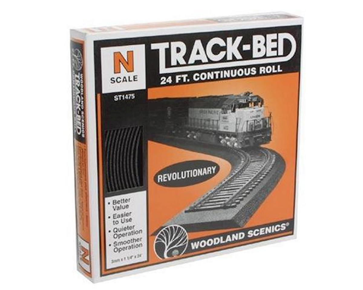 Woodland Scenics N Track-Bed Roll, 24'