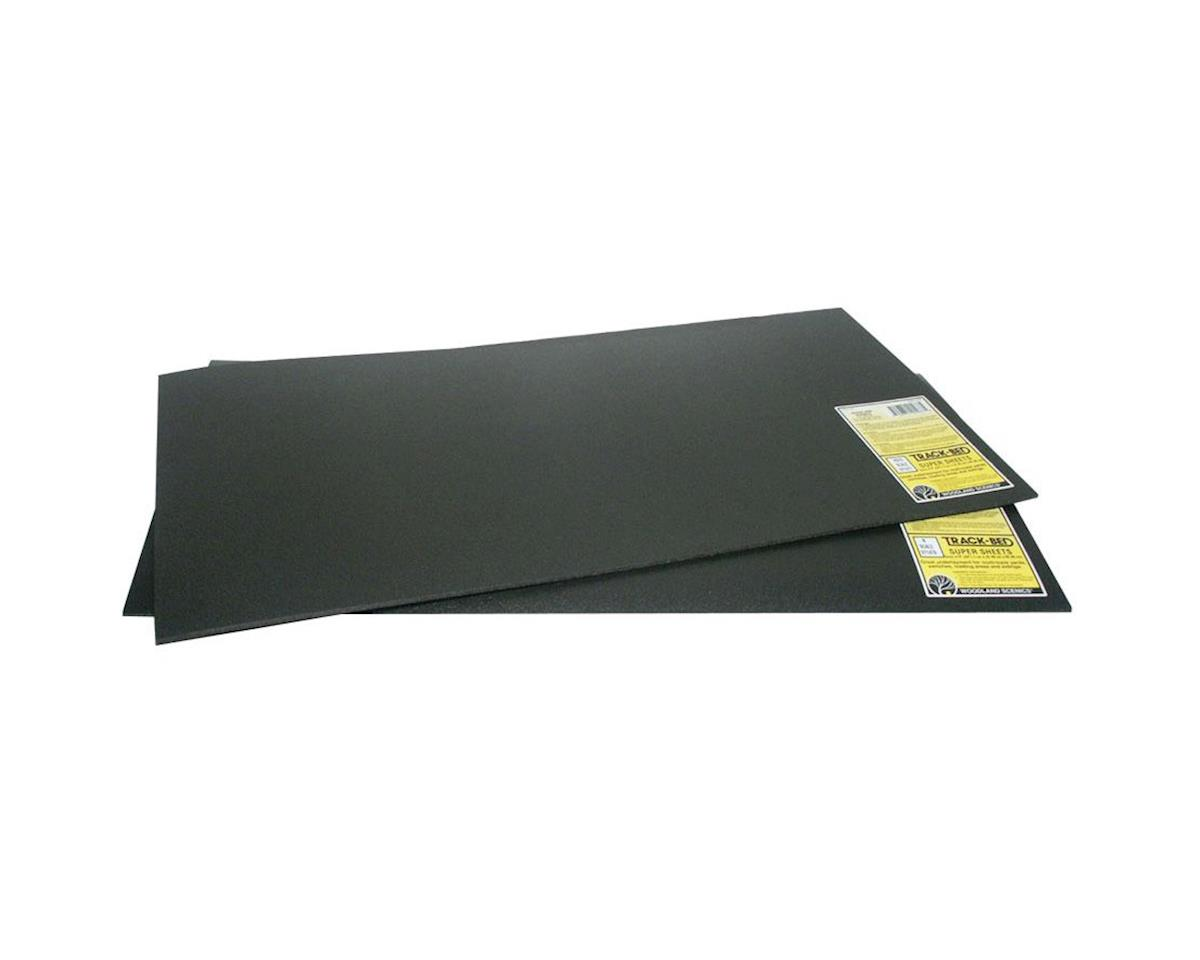 "Woodland Scenics  Ho/O Sub Terrain Track-Bed Sheets 12X24"" 5Mm"