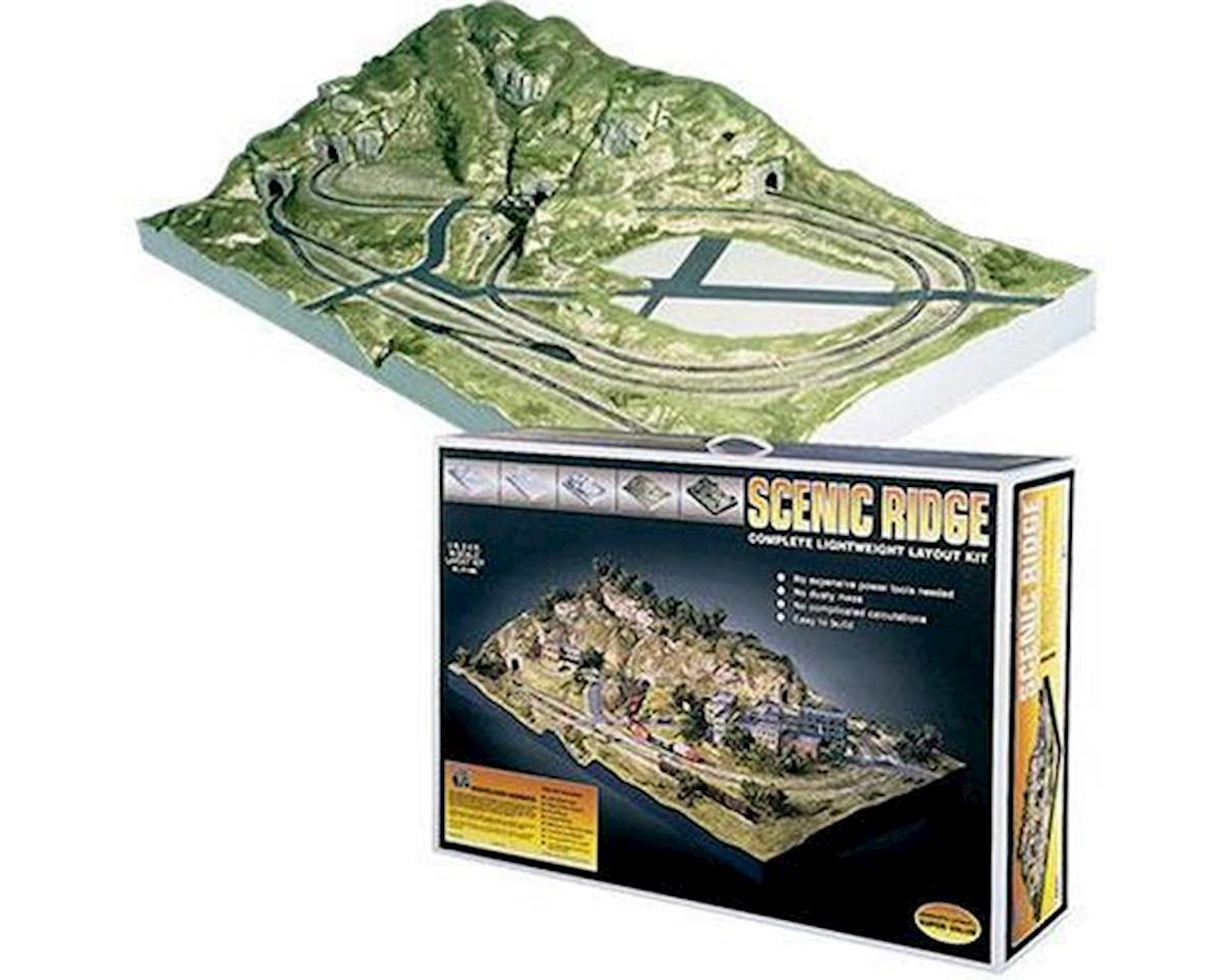 N Scenic Ridge Layout Kit by Woodland Scenics