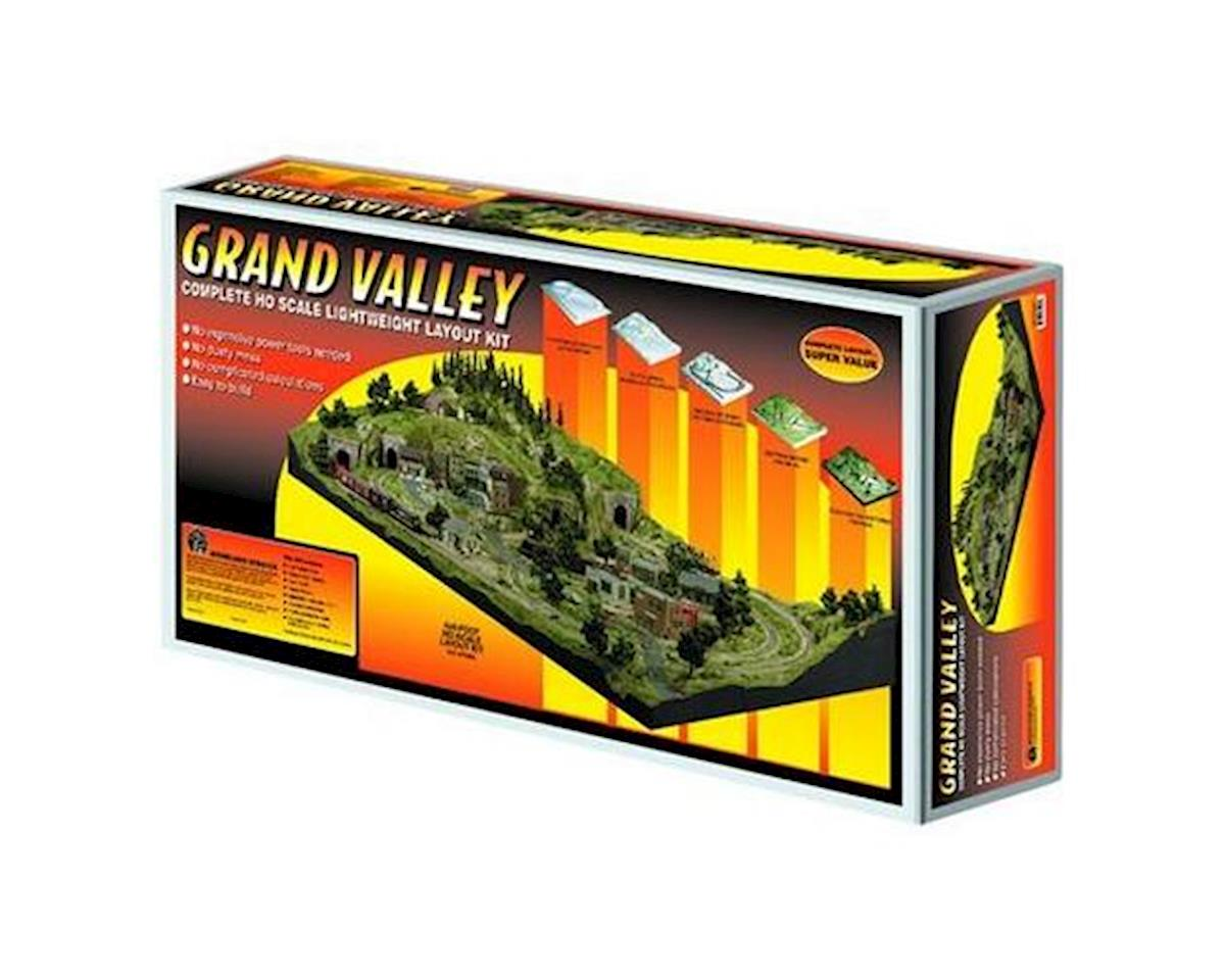 HO Grand Valley Layout Kit by Woodland Scenics