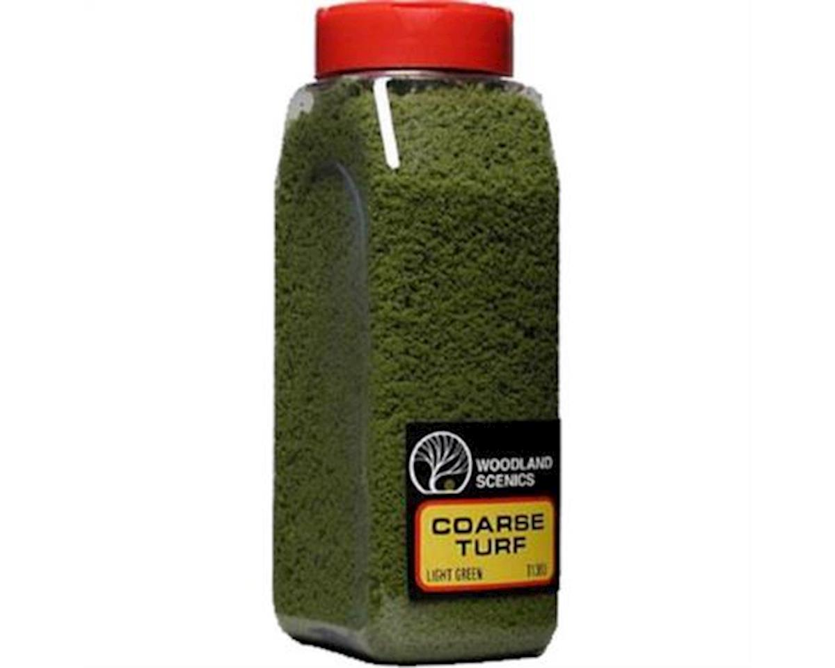Woodland Scenics Coarse Turf Shaker, Light Green/50 cu. in.