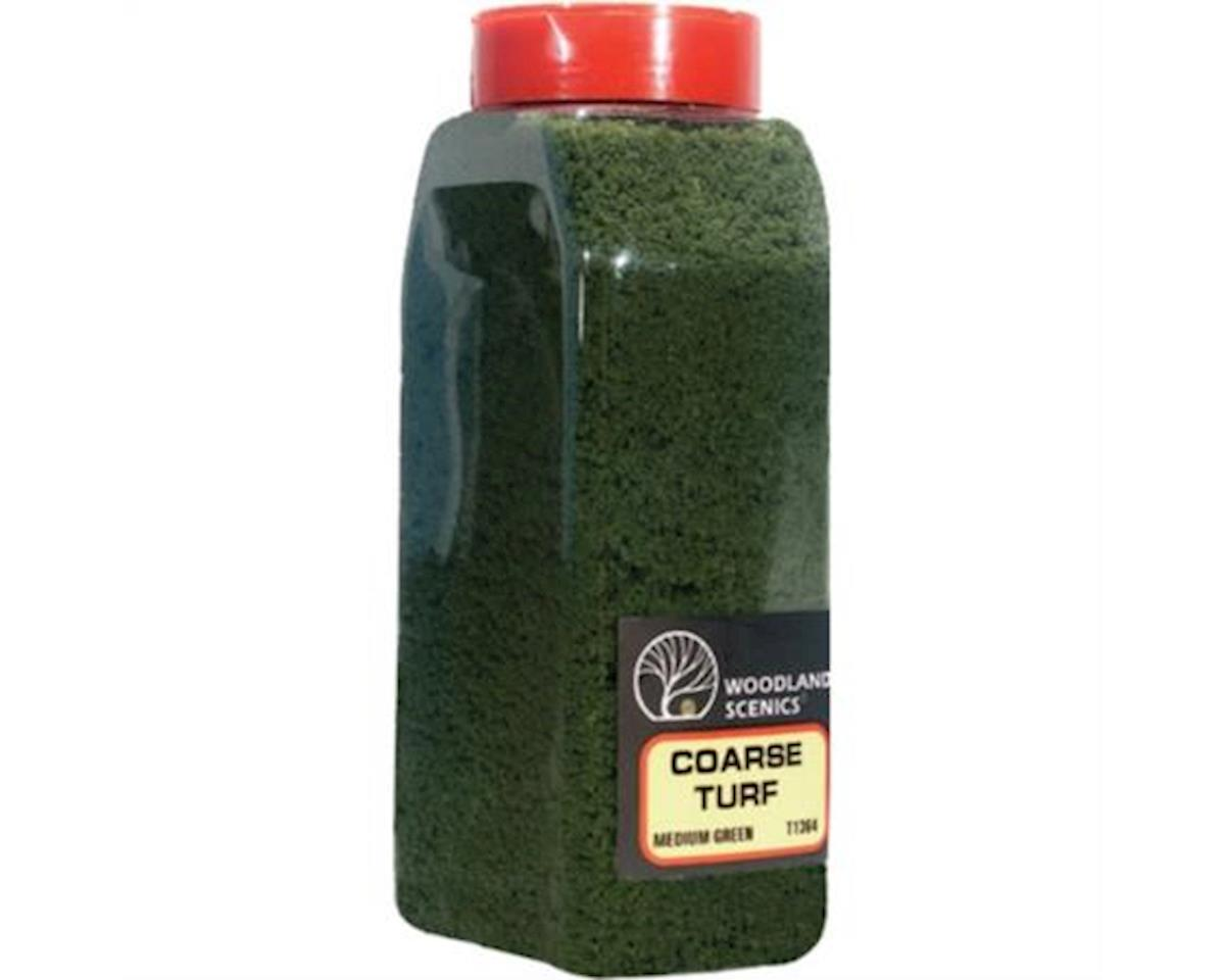 Woodland Scenics Coarse Turf Shaker, Medium Green/50 cu. in.