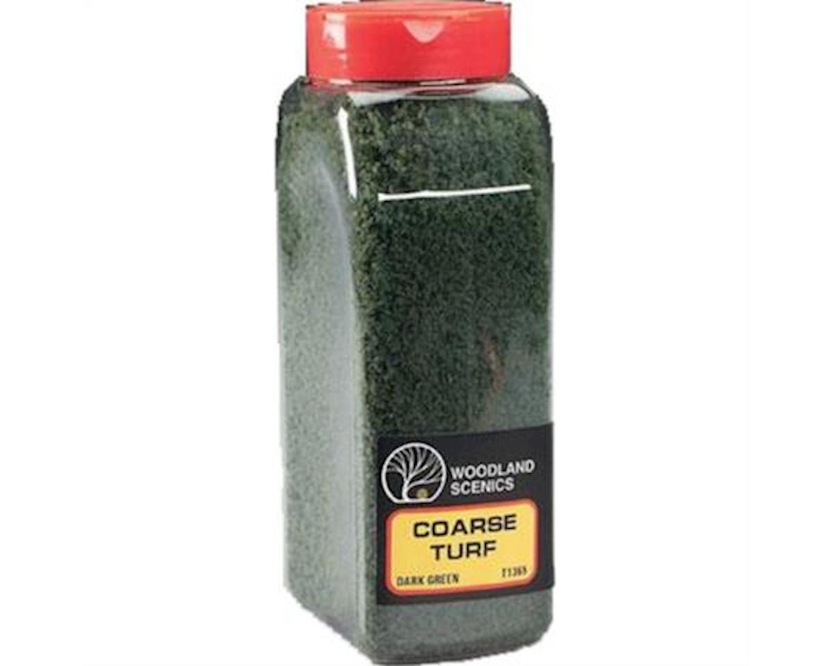 Woodland Scenics Coarse Turf Shaker, Dark Green/50 cu. in.
