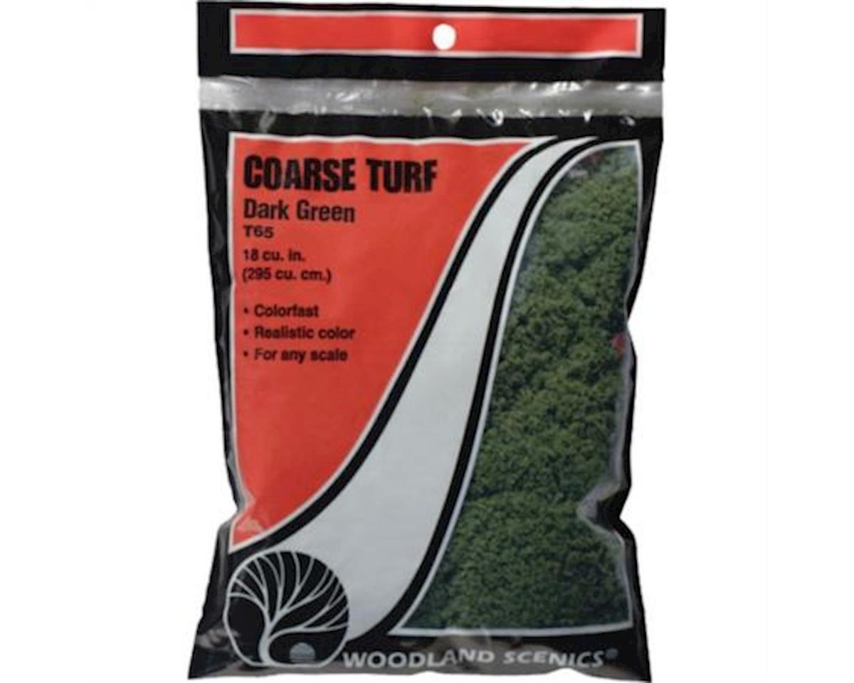 Woodland Scenics Coarse Turf Bag, Earth/18 cu. in.