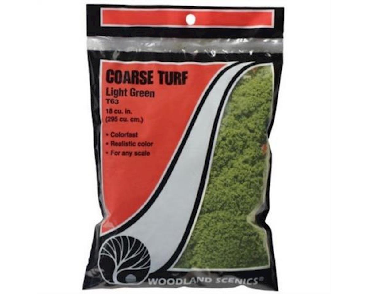 Woodland Scenics Coarse Turf Bag, Light Green/18 cu. in.