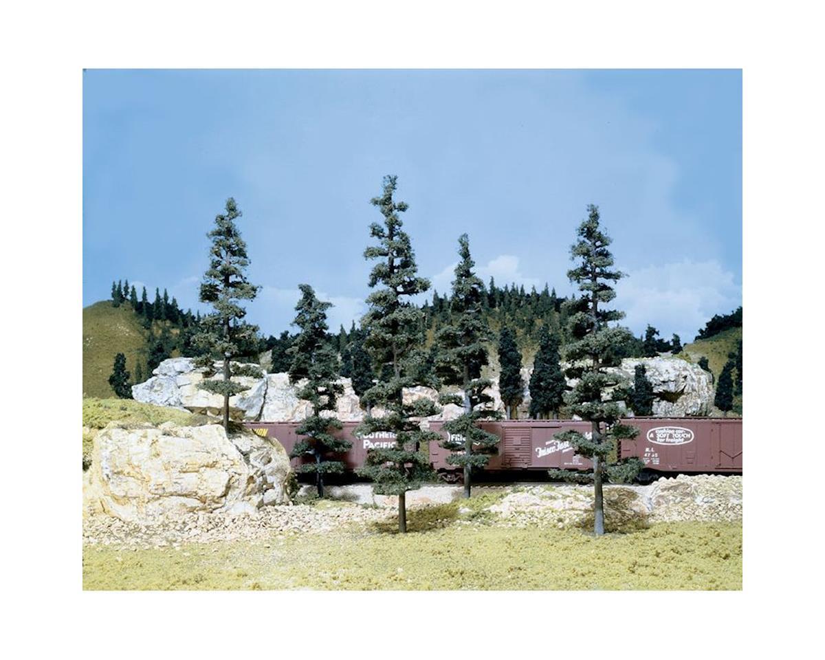 "Woodland Scenics Large Pine Trees, 6-9"""
