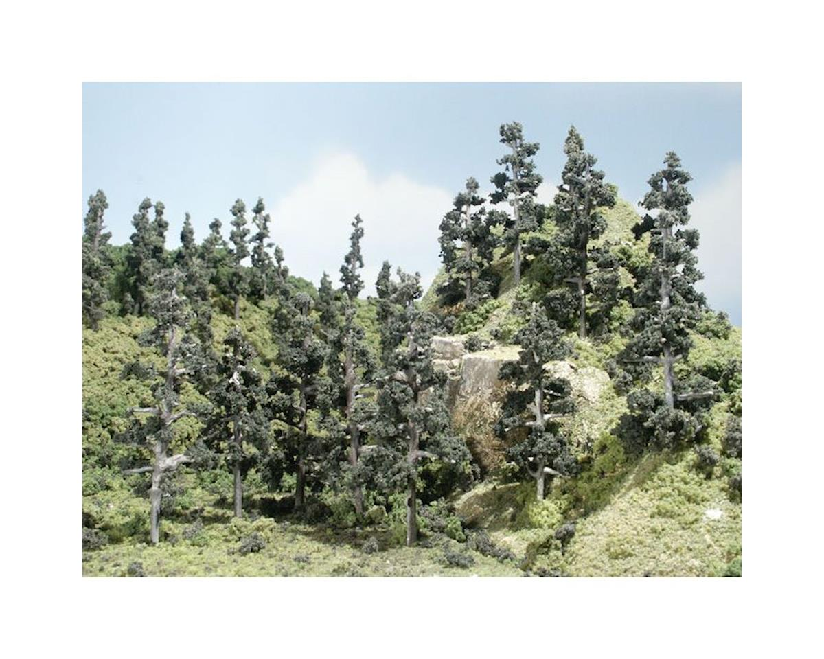 "Woodland Scenics Pine Forest Tree Kit, 2-4"""