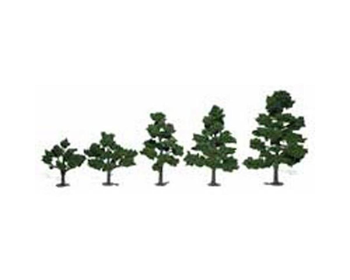 "Woodland Scenics Deciduous Tree Kit, 3""-7"" (6)"