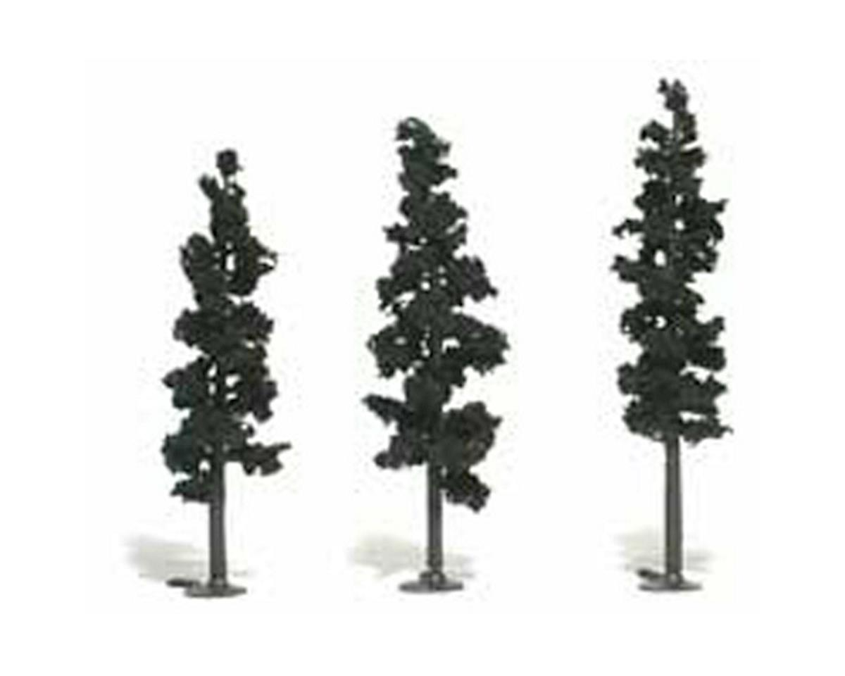 "Woodland Scenics Ready-Made Pine, 6-7"" (3)"