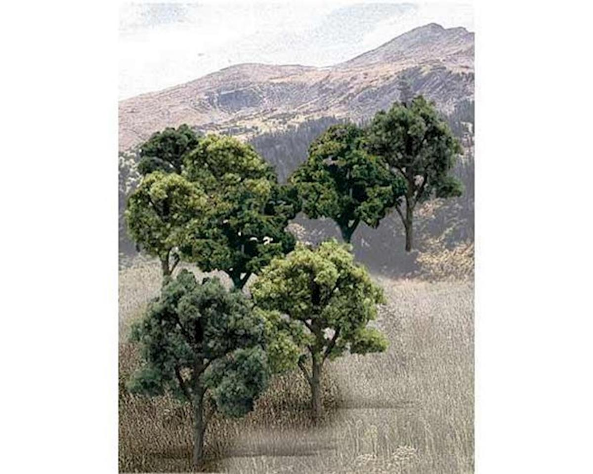"Woodland Scenics Value Trees, Green Mix 3-5"" (14)"
