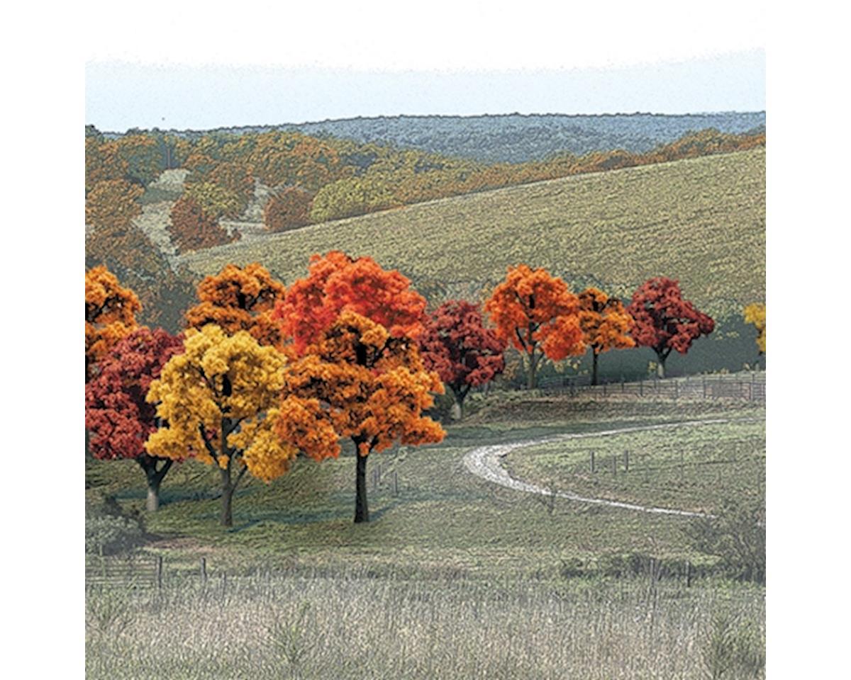 """Woodland Scenics Value Trees, Fall Mix .75-2"""" (38)"""