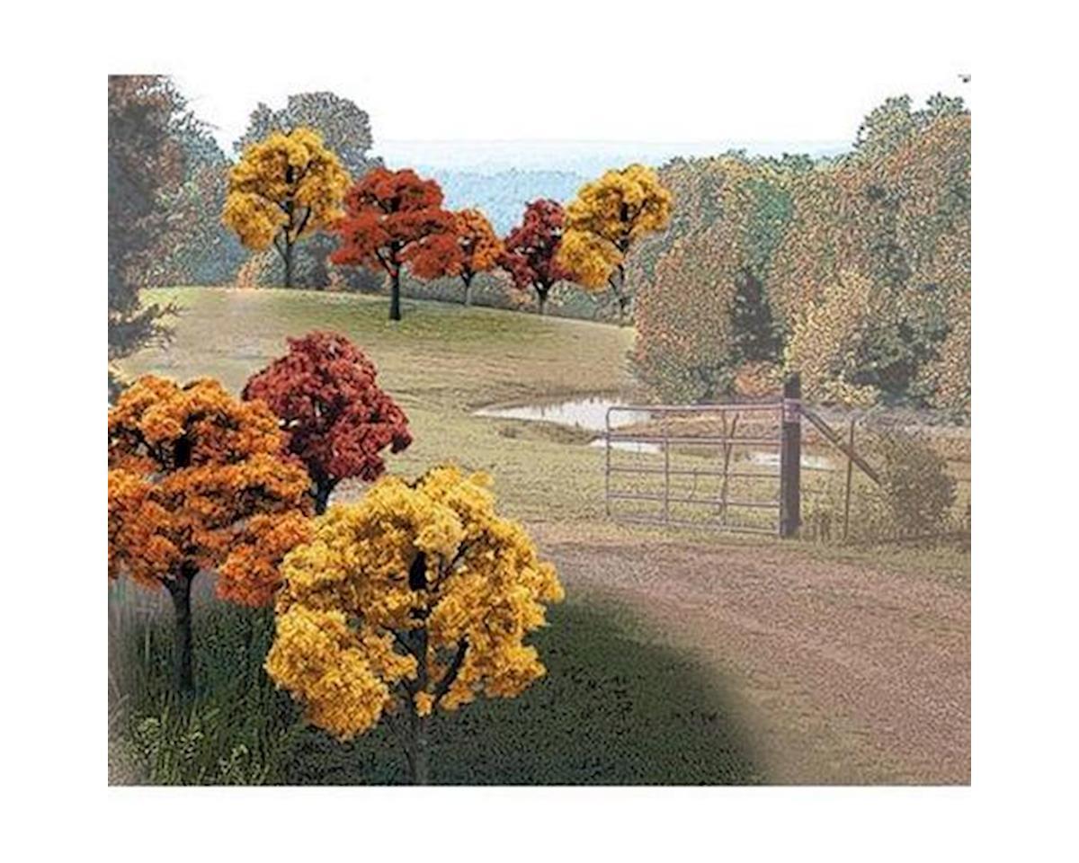 """Woodland Scenics Value Trees, Fall Mix 2-3"""" (23)"""