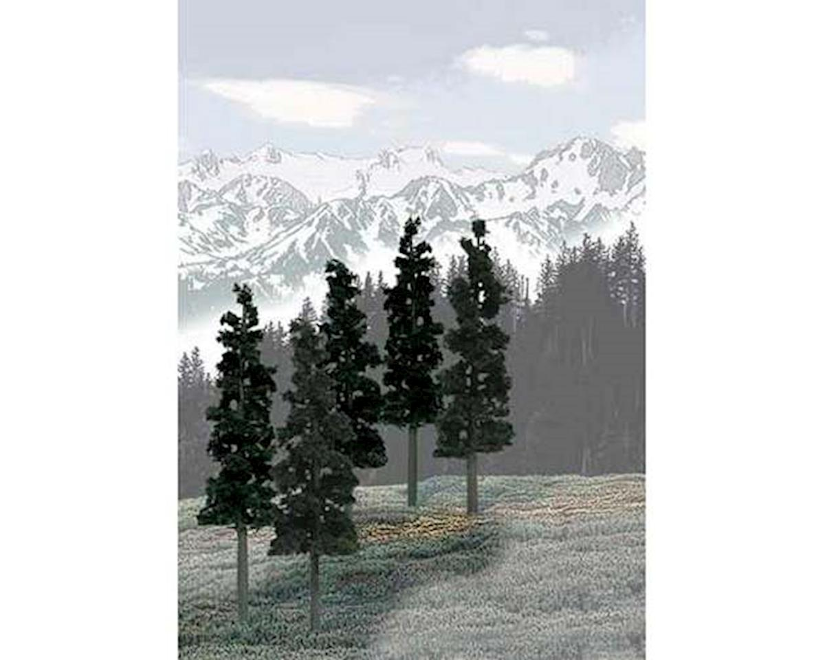 "Woodland Scenics Value Trees, Conifer 6-8"" (12)"