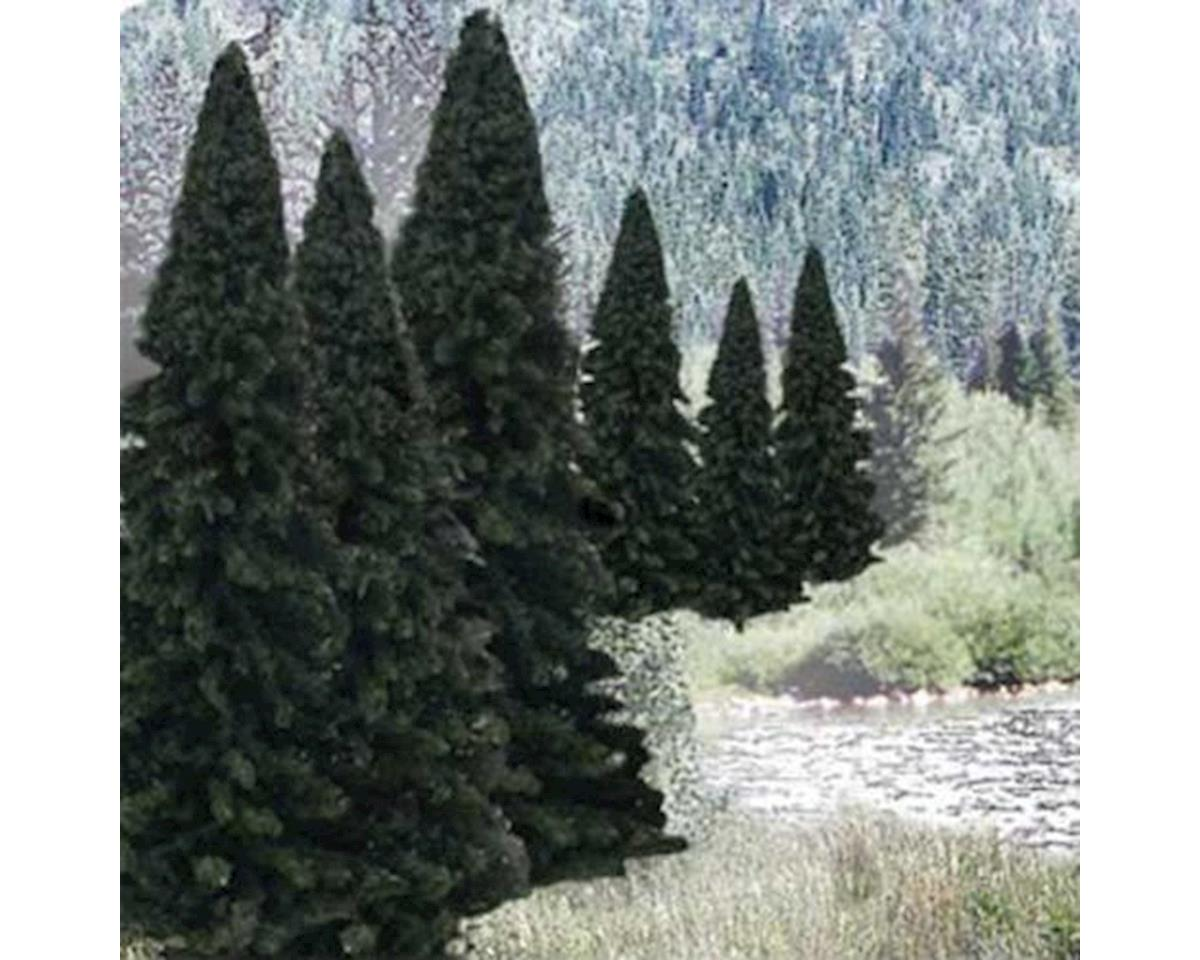 "Woodland Scenics Ready Made Trees Value Pack, Evergreen 2-4"" (18)"