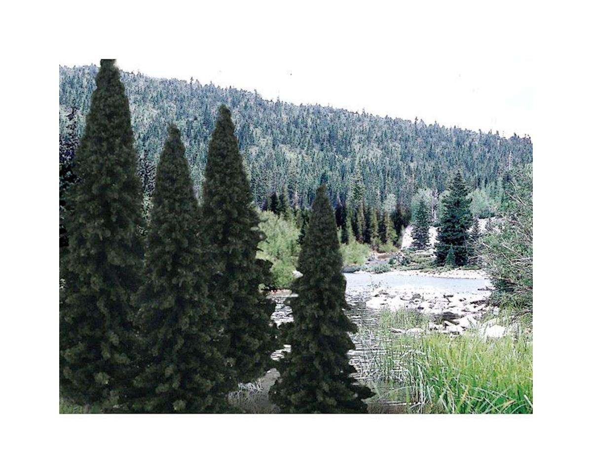 "Woodland Scenics Ready Made Trees Value Pack, Evergreen 4-6"" (18)"