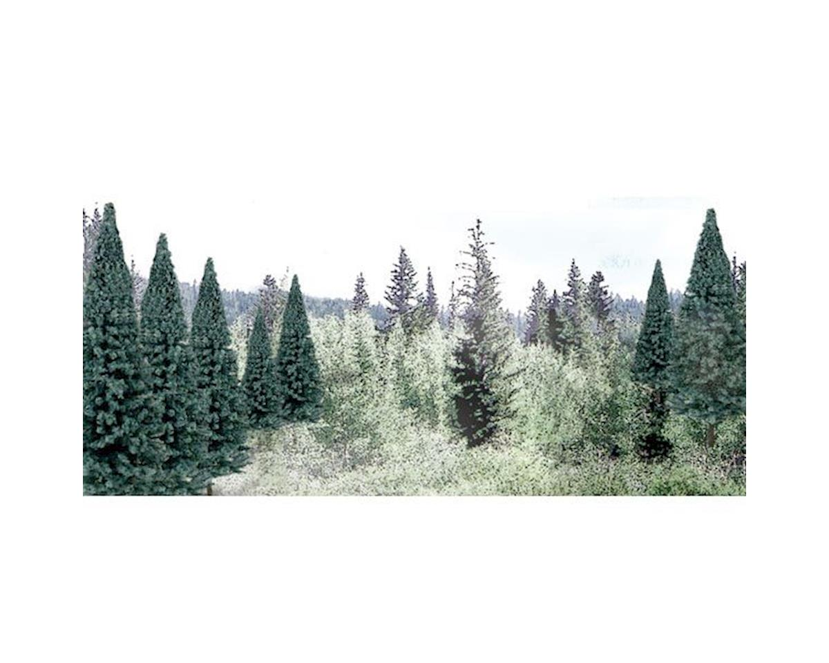 "Woodland Scenics Ready Made Trees Value Pack, Blue Spruce 2-4"" (18)"