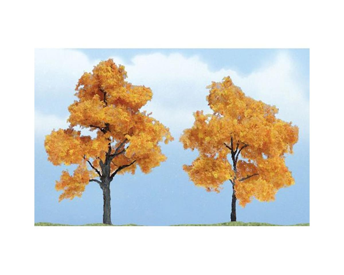 "Woodland Scenics Premium Fall Maple Tree, 3""/2.5"" (2)"