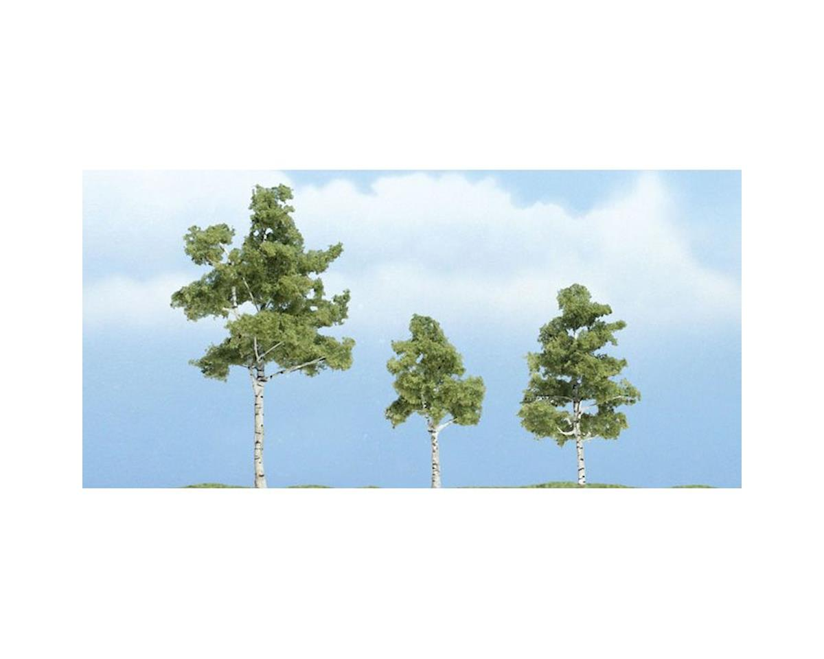 "Woodland Scenics Premium Paper Birch Tree, 3""/2""/1.50"" (3)"