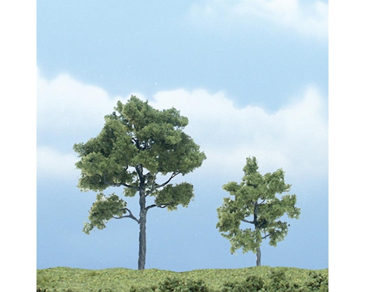 """Woodland Scenics Premium Locust Tree, 3""""/2"""" (2)"""