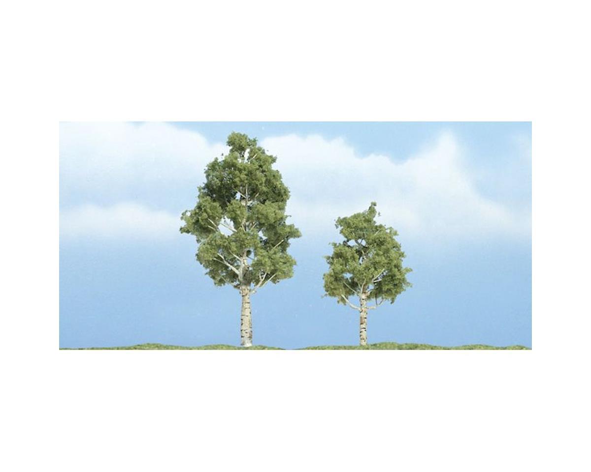 "Woodland Scenics Premium Aspen Tree, 3""/2"" (2)"
