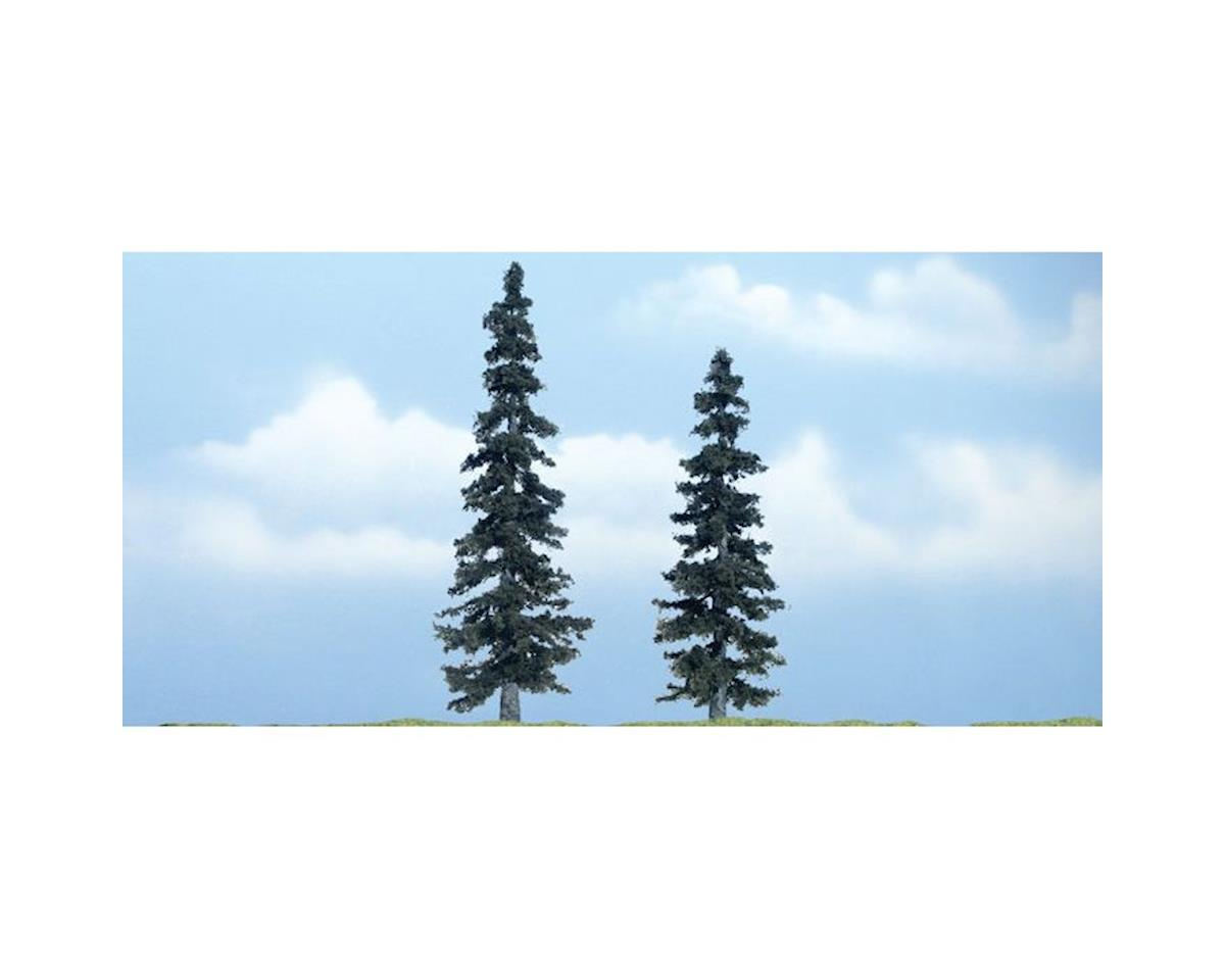 "Woodland Scenics Premium Spruce Tree, 5""/4"" (2)"