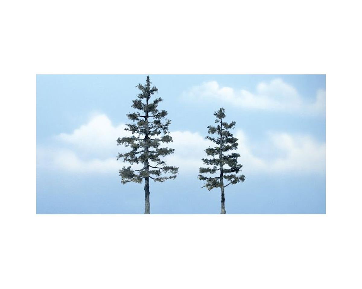"Woodland Scenics Premium Pine Tree, 5.25""/4"" (2)"