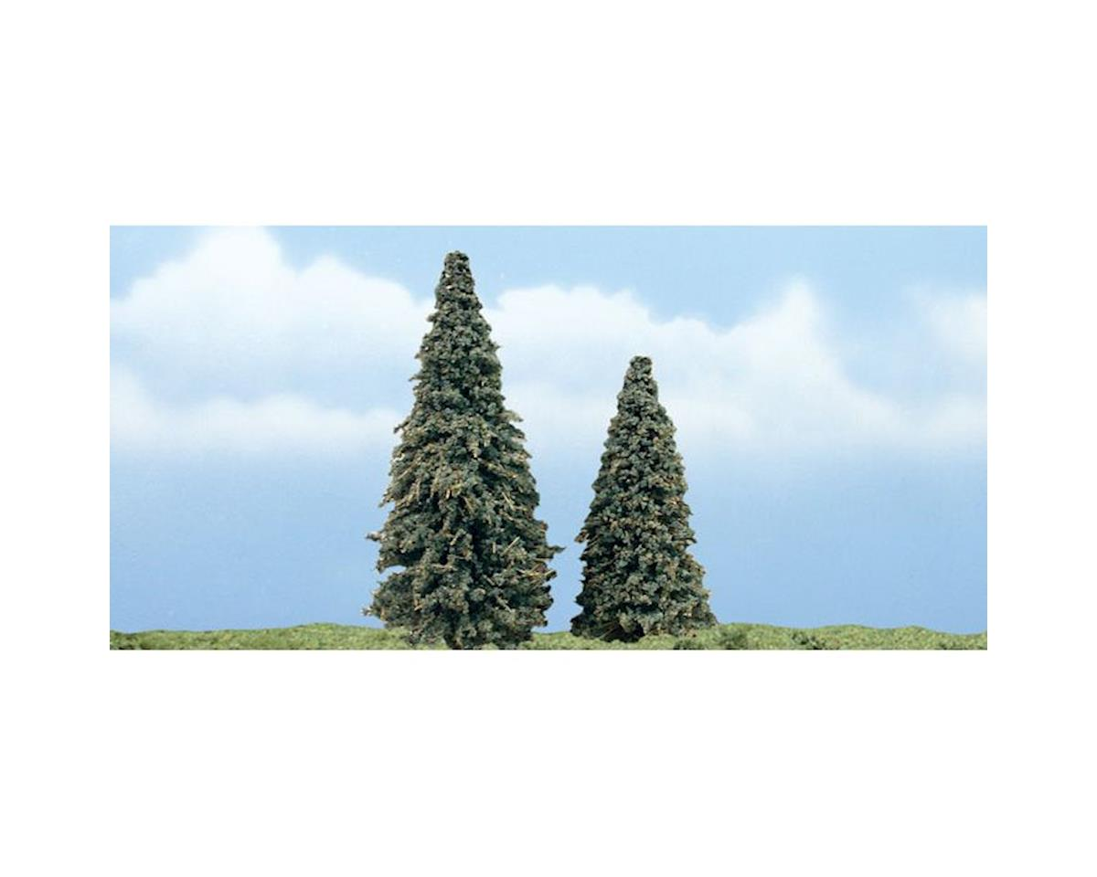"""Woodland Scenics Premium Conifer Tree, 3-4"""" (2)"""