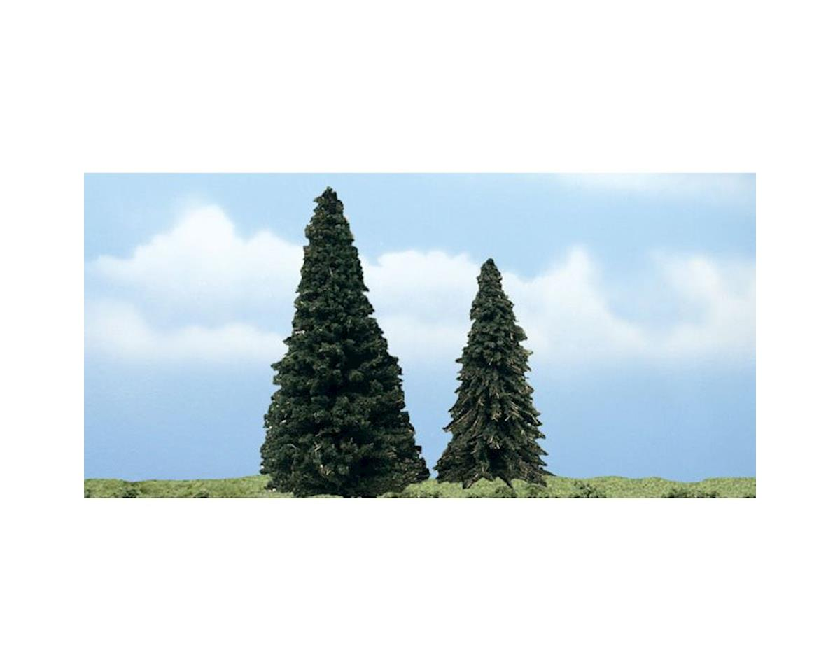 "Woodland Scenics Premium Evergreen Tree, 4-5"" (2)"