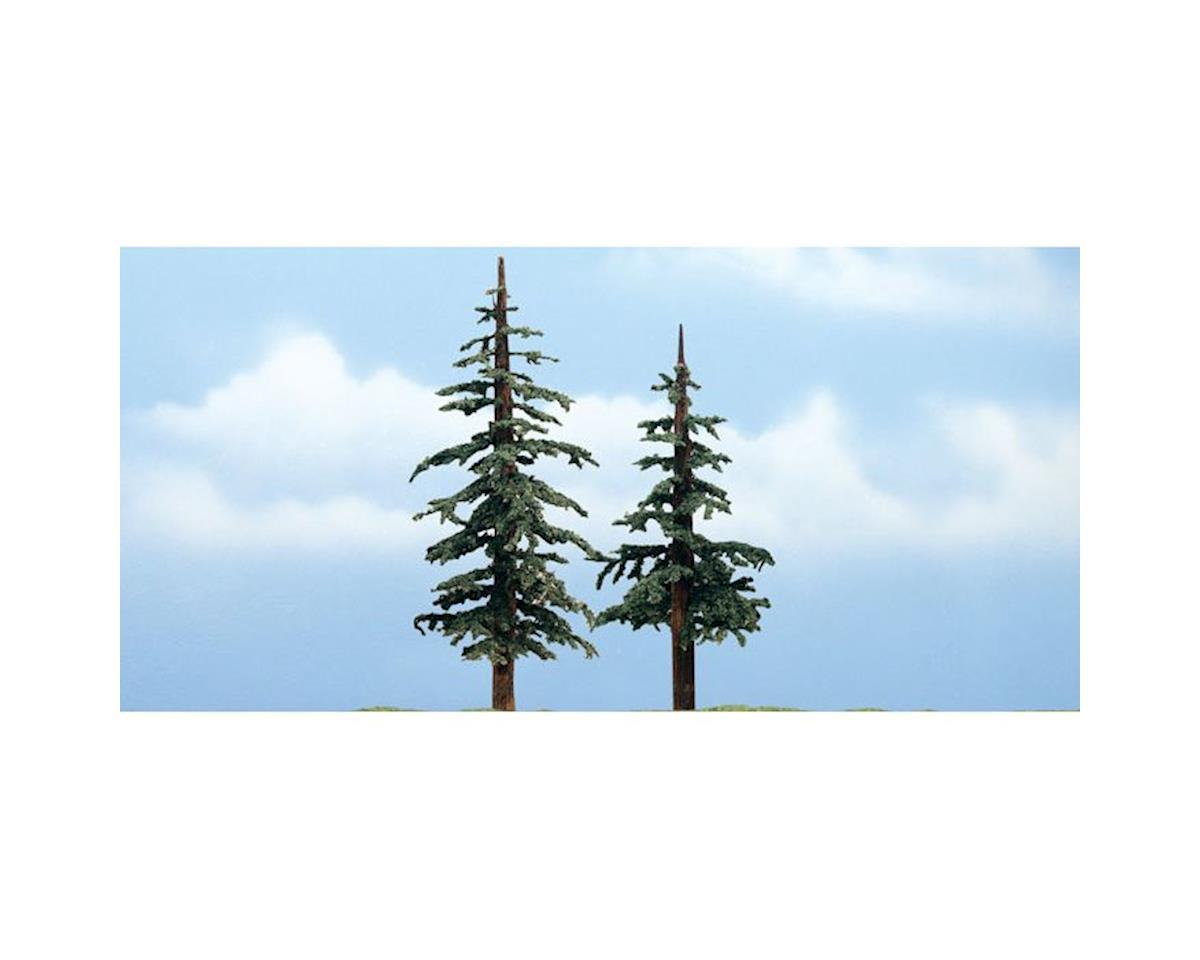 "Woodland Scenics Premium Lodgepole Tree, 4-5"" (2)"