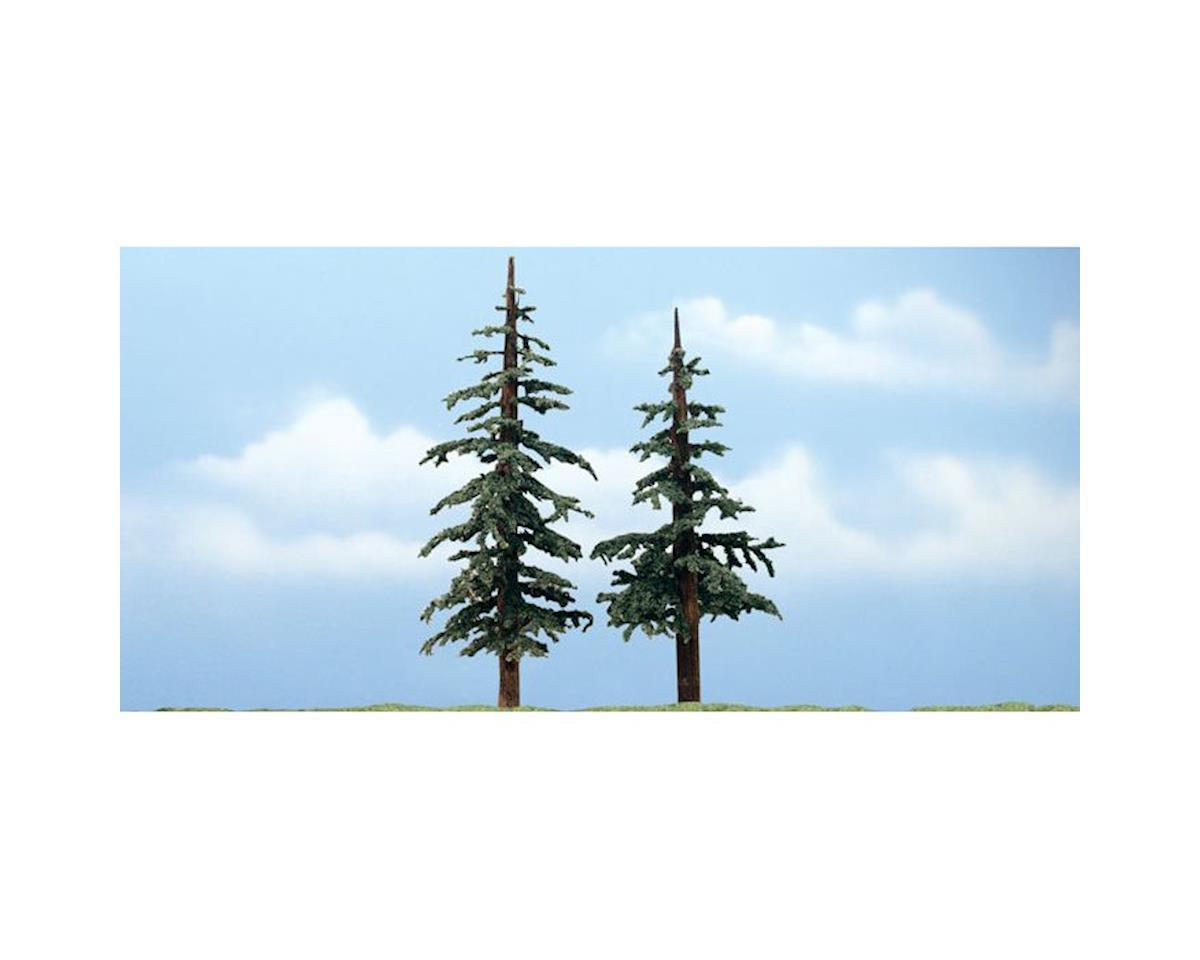 "Woodland Scenics Premium Lodgepole Tree, 5-6"" (2)"