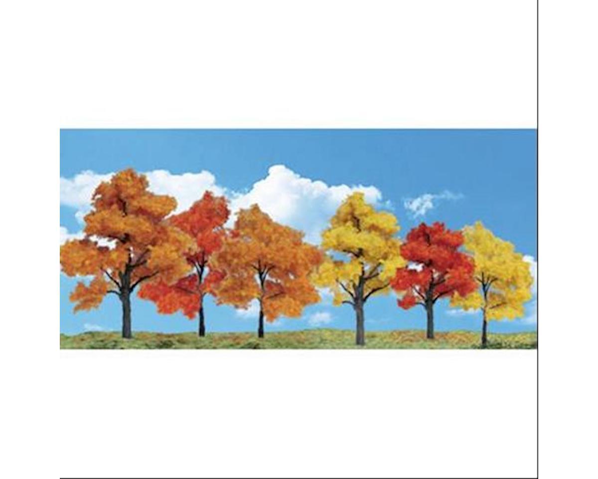 "Woodland Scenics Classics Tree, Harvest Blaze 3-5"" (6)"