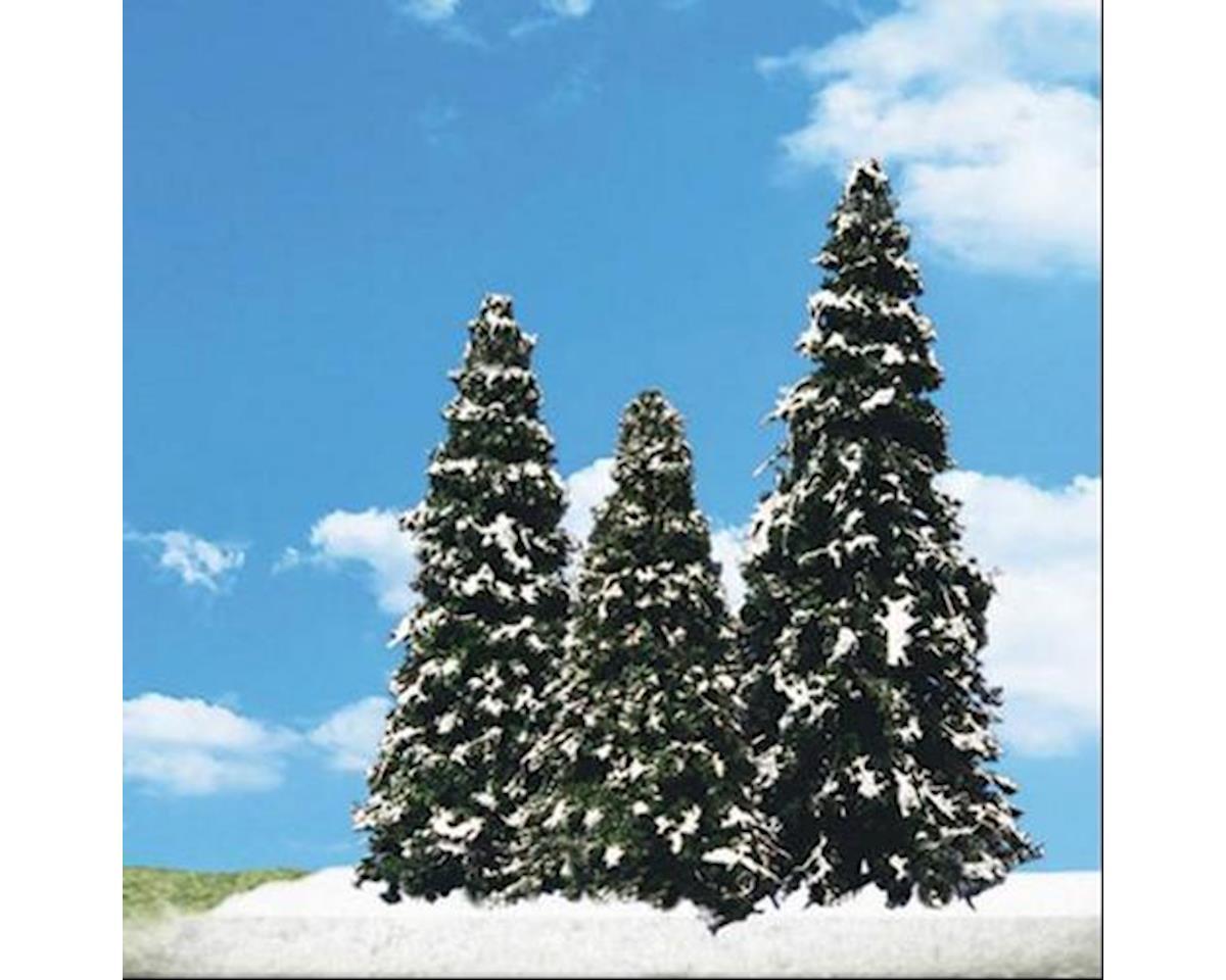 "Woodland Scenics Classics Tree, Snow Dusted 2.5-4"" (5)"
