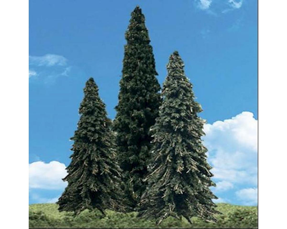 Woodland Scenics Forever Green Trees 3.5 - 5.5  (4)