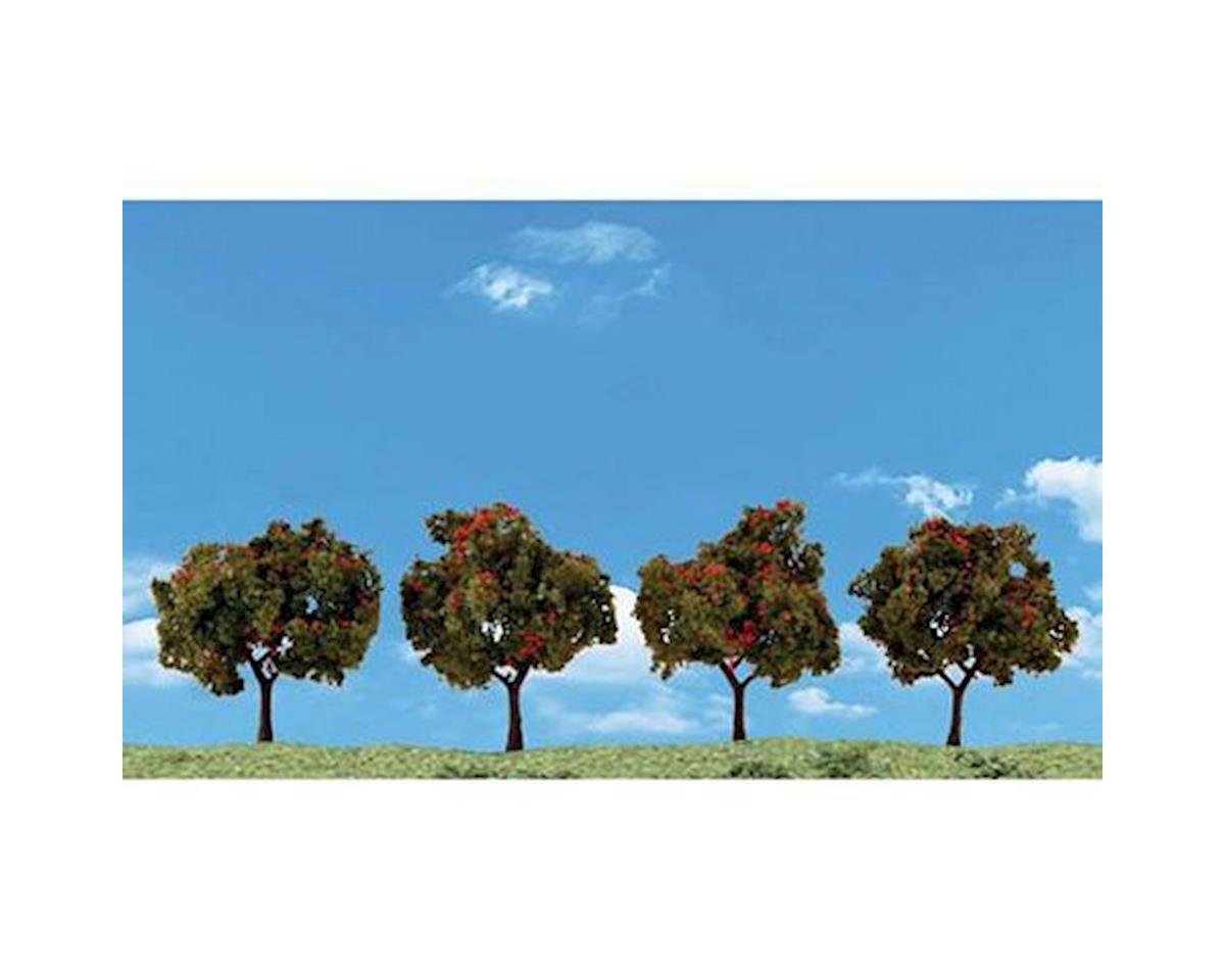 "Woodland Scenics Classics Tree, Apple 2-3"" (4)"