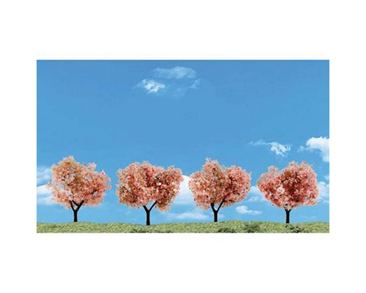"Woodland Scenics Classics Tree, Flowering 2-3"" (4)"