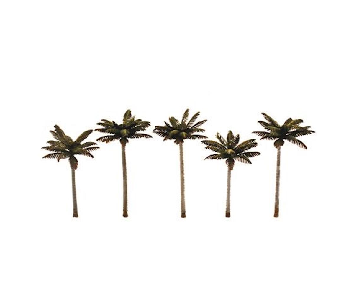 "Woodland Scenics Classics Tree, Palm  3-3.75"" (5)"