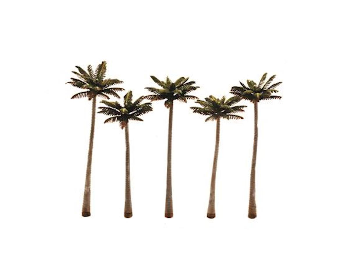 Woodland Scenics Large Palm Tree 4 3/4 -5 1/4  (5)