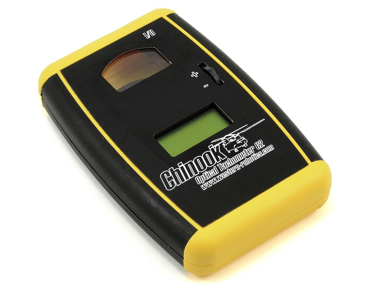 Western Robotics Chinook Optical Tachometer G2 (Yellow) (2 Blades)