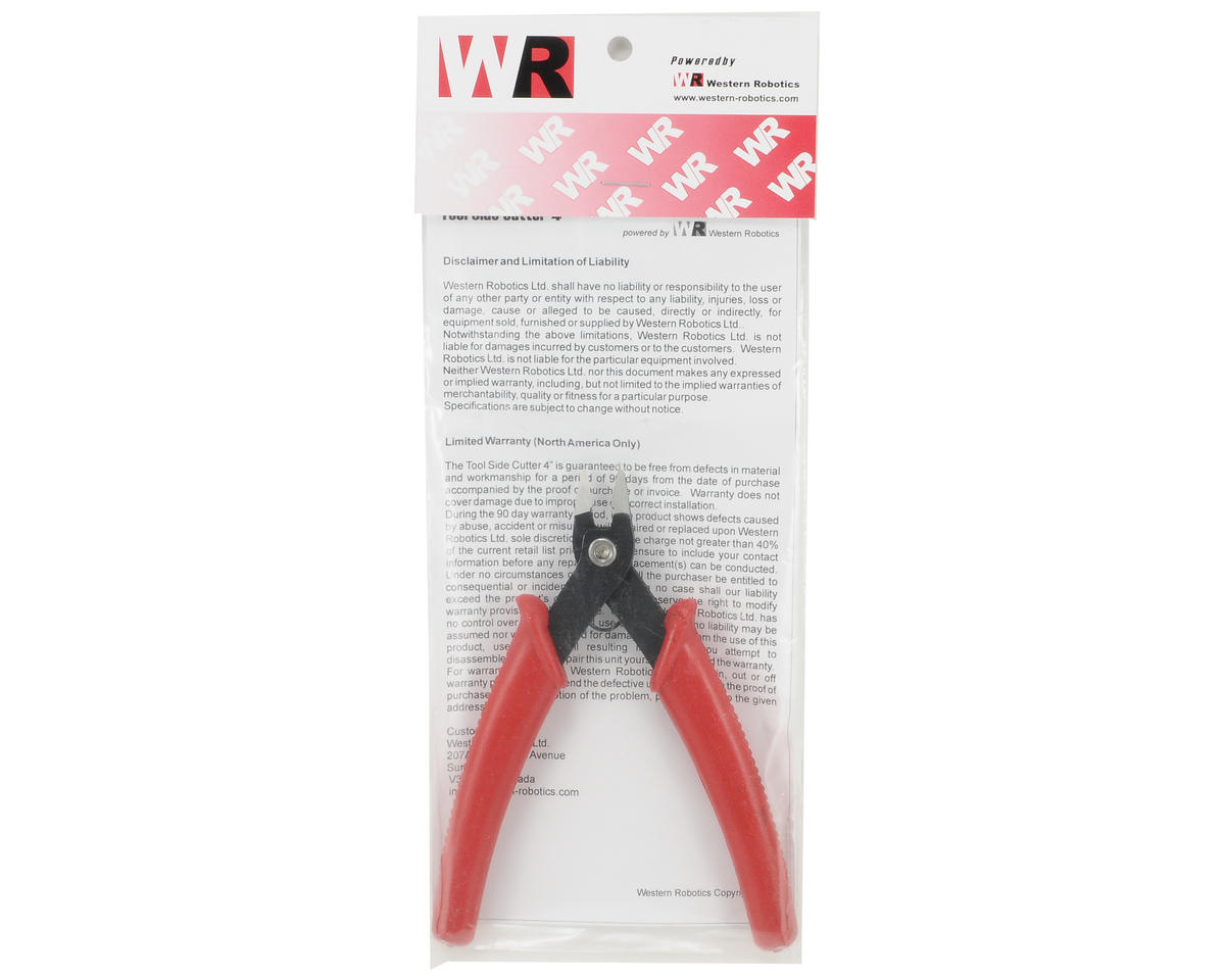 "Western Robotics 4"" Side Cutter Tool"