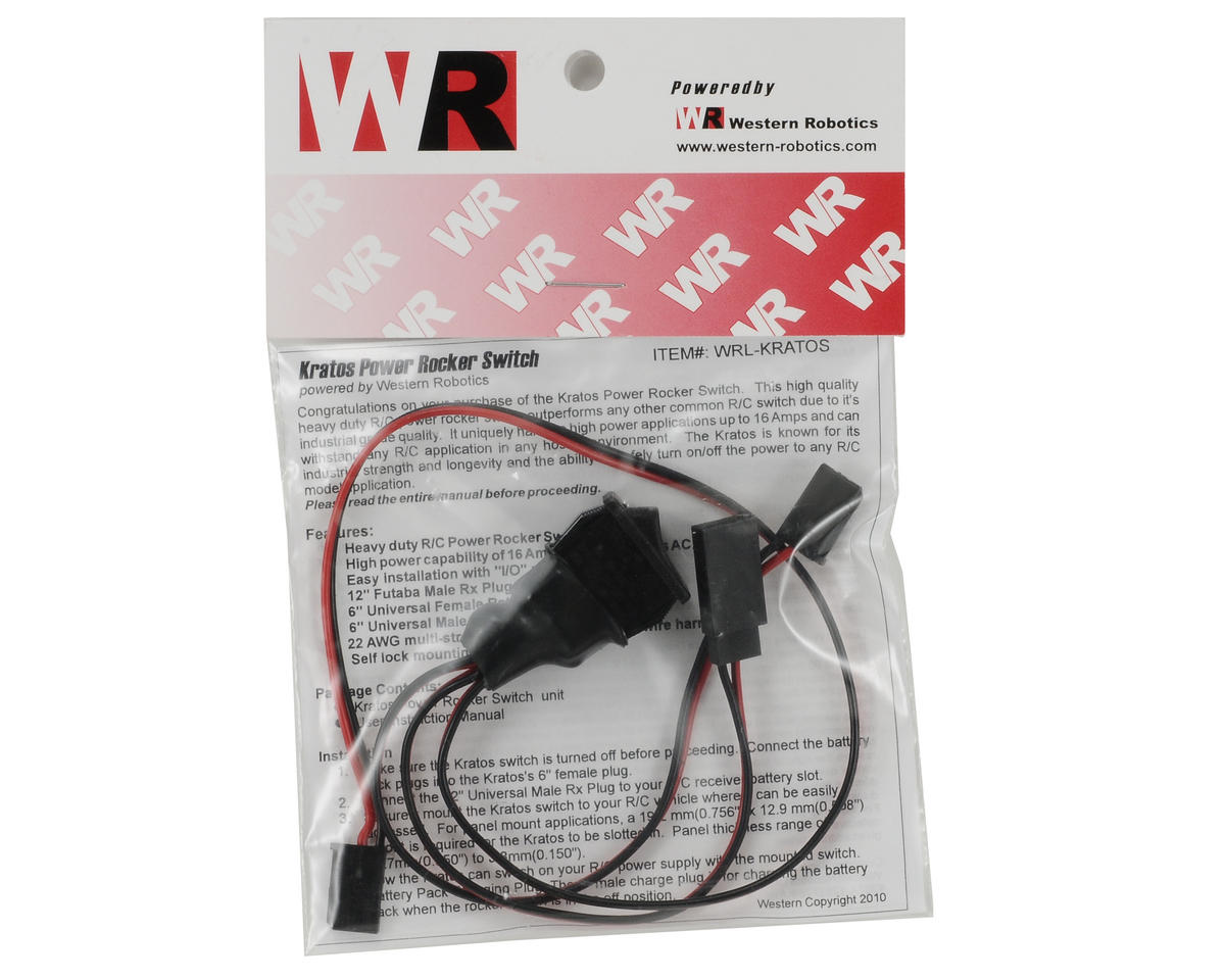 Western Robotics Kratos Power Rocker Switch